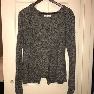 Madewell grey marbled sweater